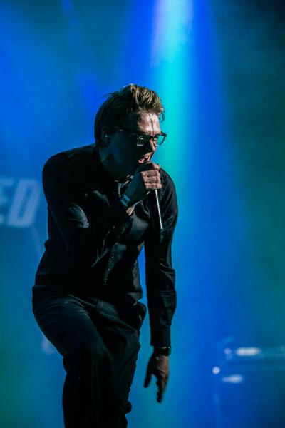 Stig Gamborg under koncerten på Spot. Foto: Hasan Jensen/Homage Photography