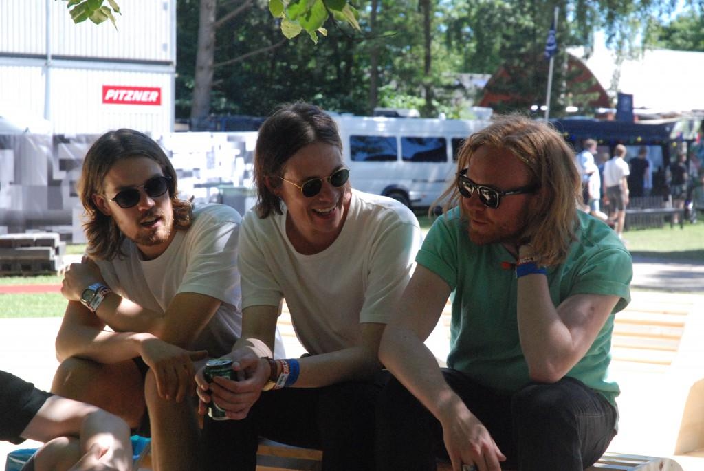 Jonas, Mathias og Anders